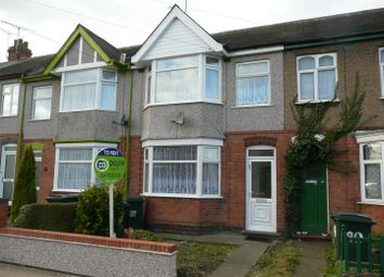 Thumbnail 3 bed terraced house to rent in Pearson Avenue, Hall Green, Coventry