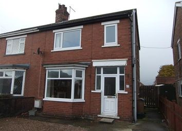 Thumbnail 3 bedroom semi-detached house to rent in Monks Road, Scunthorpe