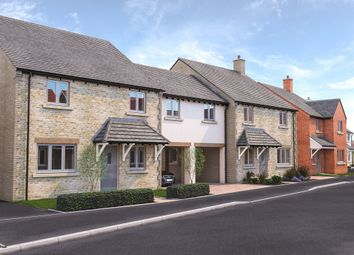 Thumbnail 4 bed link-detached house for sale in Cote Road, Aston, Bampton