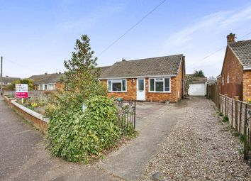 Thumbnail 2 bedroom detached bungalow for sale in Elm Park, Toftwood, Dereham
