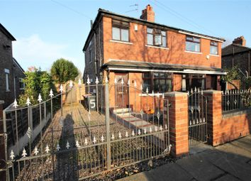 Thumbnail 3 bed semi-detached house for sale in Shackleton Street, Eccles, Manchester