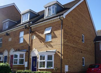 Thumbnail 3 bed end terrace house to rent in Toadhall Crescent, Chattenden
