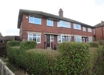 Thumbnail 2 bed flat for sale in Queens Drive, Wrenthorpe, Wakefield