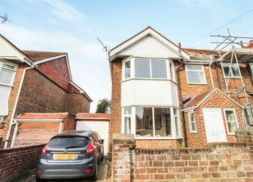 Thumbnail 3 bedroom semi-detached house for sale in Norham Avenue, Southampton