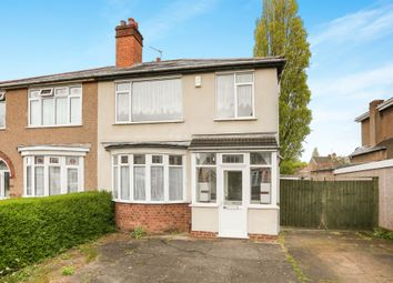 Thumbnail 3 bedroom semi-detached house for sale in Leighton Road, Penn, Wolverhampton