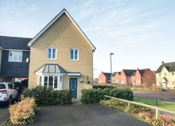 Thumbnail 3 bed link-detached house for sale in Osprey Close, Bury St. Edmunds