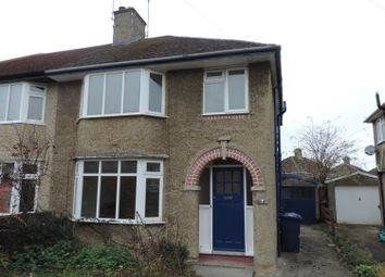 Thumbnail 3 bedroom semi-detached house to rent in Hugh Allen Crescent, Marston, Oxford