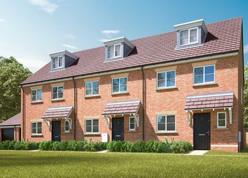 "Thumbnail 4 bed terraced house for sale in ""The Aslin"" at Pamington, Tewkesbury"