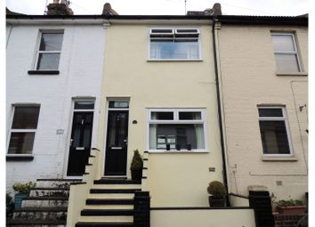 Thumbnail 2 bed terraced house for sale in Sidney Road, Rochester