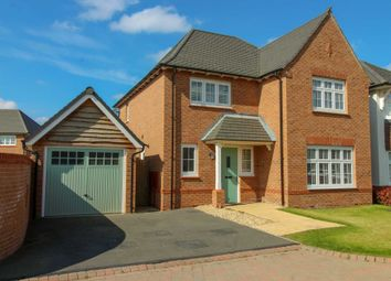Thumbnail 4 bed detached house for sale in Lincoln Close, Woodford, Stockport