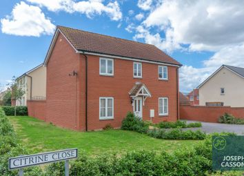 Thumbnail 4 bed detached house for sale in Citrine Close, Stockmoor Village, Bridgwater