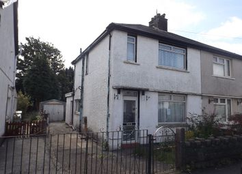 Thumbnail 2 bedroom semi-detached house for sale in Burrows Road, Baglan, Port Talbot, Neath Port Talbot.