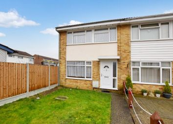 Thumbnail 3 bed end terrace house for sale in Daniel Way, Silver End, Witham