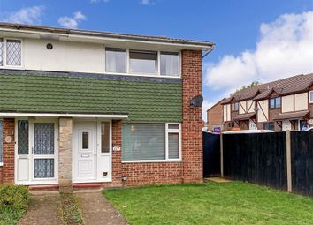 Thumbnail 2 bed semi-detached house for sale in Newbury Avenue, Maidstone, Kent