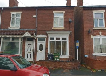 Thumbnail 3 bedroom end terrace house for sale in Essex Street, Walsall