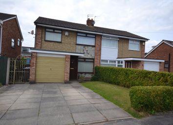Thumbnail 3 bed semi-detached house for sale in Maliston Road, Great Sankey, Warrington