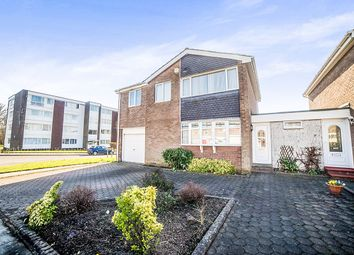 Thumbnail 4 bed detached house for sale in Wishaw Close, Cramlington