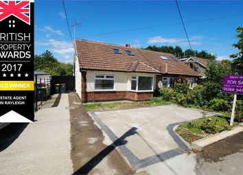 Thumbnail 4 bed semi-detached bungalow for sale in Station Crescent, Totally Refurbished, Rayleigh, Essex