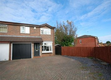 Thumbnail 3 bedroom semi-detached house for sale in Shard Close, East Hunsbury, Northampton