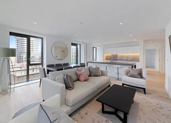 Thumbnail 3 bed flat for sale in Portland House, Royal Wharf, London