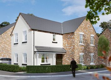 "Thumbnail 4 bed detached house for sale in ""The Hartlebury"" at Dark Lane, Whatton, Nottingham"