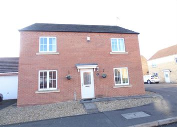 Thumbnail 4 bed detached house for sale in Bailey Way, Peterborough, Cambridgeshire