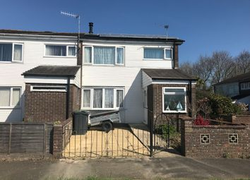 Thumbnail 3 bedroom end terrace house for sale in Well Meadow, Havant, Hampshire