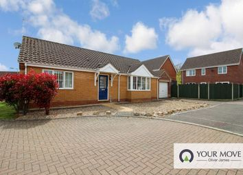Thumbnail 2 bed bungalow for sale in Cedar Drive, Worlingham, Beccles