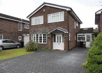 Thumbnail 4 bed detached house for sale in Shepley Close, Hazel Grove, Stockport