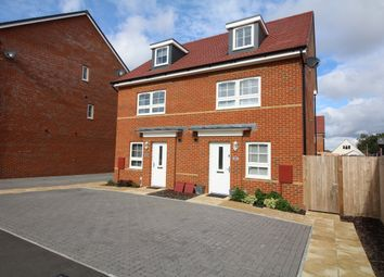 Thumbnail 4 bed semi-detached house for sale in Abraham Drive, Poole
