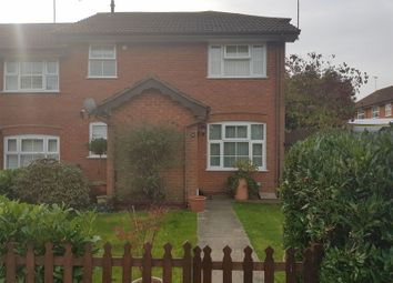 Thumbnail 1 bed end terrace house for sale in Harvard Close, Woodley, Reading