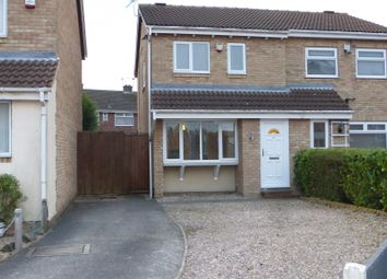 Thumbnail 3 bed semi-detached house for sale in Hazel Meadows, Hucknall, Nottingham