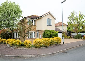 Thumbnail 5 bed detached house for sale in Burghley Rise, Burwell