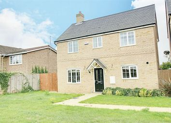 Thumbnail 3 bed detached house for sale in Gidding Road, Sawtry, Huntingdon