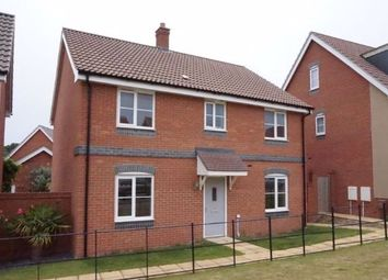 Thumbnail 4 bed detached house for sale in Poethlyn Drive, Norwich