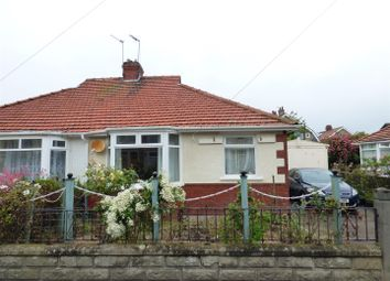 Thumbnail 2 bed semi-detached bungalow for sale in Scott Road, Heysham, Morecambe