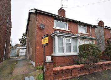 Thumbnail 2 bed semi-detached house to rent in Brierley Avenue, Blackpool