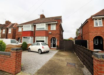 Thumbnail 4 bedroom semi-detached house for sale in Reighton Avenue, York