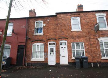 Thumbnail 2 bed terraced house for sale in Perrott Street, Birmingham