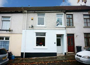 Thumbnail 3 bed terraced house for sale in Fair View Terrace, Quakers Yard, Treharris
