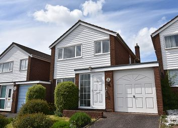 Thumbnail 3 bed detached house for sale in Bickleigh Close, Pinhoe, Exeter