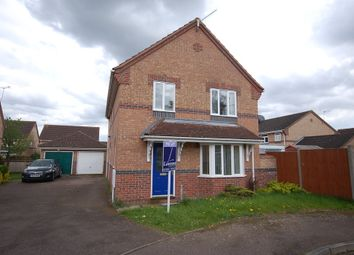 Thumbnail 4 bed detached house to rent in Teasel Drive, Thetford