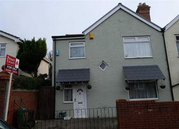 Thumbnail 3 bed semi-detached house for sale in Buttrills Road, Barry, Vale Of Glamorgan