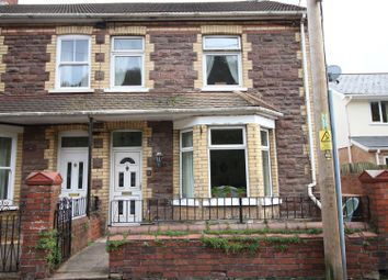 Thumbnail 3 bed semi-detached house for sale in Ebbw Street, Risca, Newport