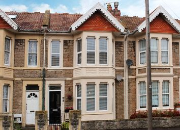 Thumbnail 3 bed terraced house for sale in Kensington Road, Weston Super Mare