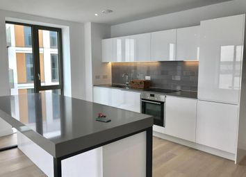 Thumbnail 3 bed flat to rent in Endeavour House, Woolwich Road, Royal Wharf