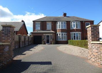 Thumbnail 5 bed semi-detached house for sale in Cornmoor Road, Whickham, Newcastle Upon Tyne