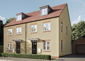 """4 bed semi-detached house for sale in """"The Aslin"""" at Pioneer Way, Bicester OX26"""