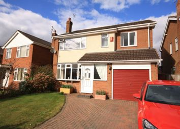 Thumbnail 4 bed detached house for sale in Rope Bank Avenue, Wistaston, Crewe