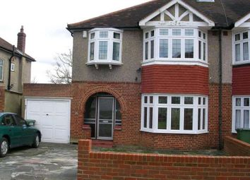 Thumbnail 3 bedroom semi-detached house to rent in Edenfield Gardens, Worcester Park